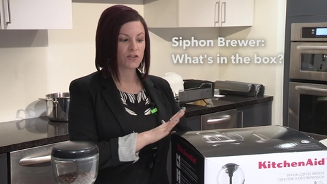 Thumbnail for entry Whats in the Box   Siphon Coffee Brewer