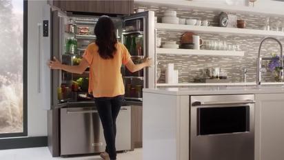 Designing The New KitchenAid Counter Depth Refrigerator   Appliance Science    KitchenAid Refrigeration