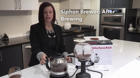Thumbnail for entry After Brewing   Siphon Coffee Brewer