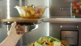 Thumbnail for entry Under Shelf Prep Zone - Feature & Beneift - KitchenAid Counterdepth Refrigeration