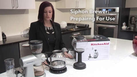 Thumbnail for entry Preparing for Use   Siphon Coffee Brewer