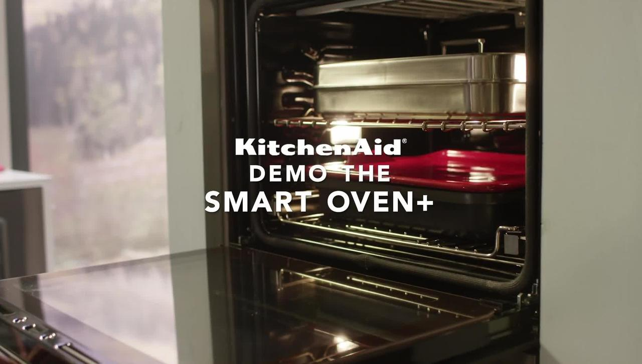 Demo the KitchenAid® Smart Oven + Powered Attachment