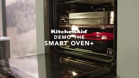 Demo the KitchenAid® Smart Oven + Powered Attachment
