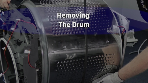 Thumbnail for entry Compact Dryer Remove the drum