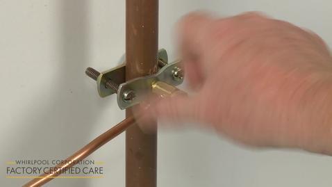Thumbnail for entry Refrigerator Installation Model WRT318FMDB