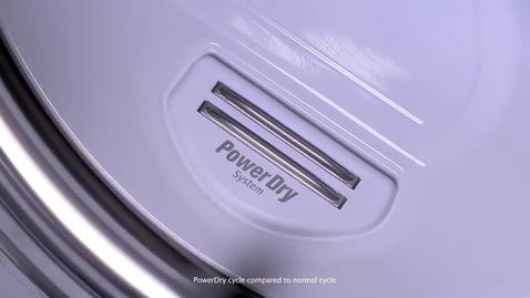 Thumbnail for entry PowerDry System Feature & Benefit - Maytag Top Load Laundry