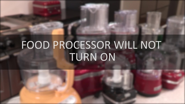 Video Food Processor Will Not Turn On Assembly Kitchenaid