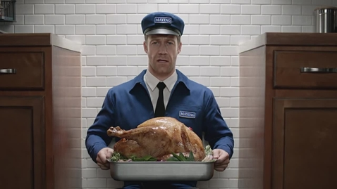 Thumbnail for entry Maytag Man Commercial - Turkey Popper - Maytag Brand