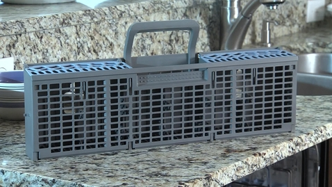 Thumbnail for entry Anywhere Silverware Basket - Whirlpool Dishwasher