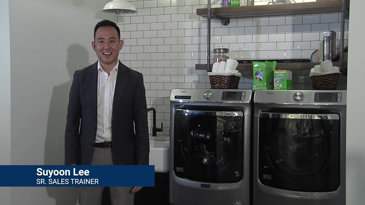 Learning about Extra Power with Maytag®  - Laundry Product Training