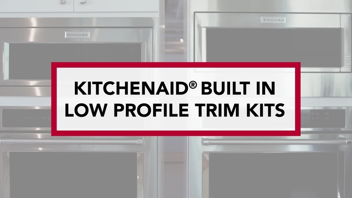 KitchenAid® Built-in-Low Profile Microwaves with Trim Kits