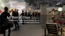 Thumbnail for entry Architectural Digest Home Design Show Panel - Casual Luxury