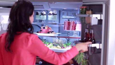 Thumbnail for entry 5-Door Refrigerator Platinum Interior Design - KitchenAid Brand