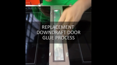 Thumbnail for entry Downdraft Door Glue Process JID4436ES