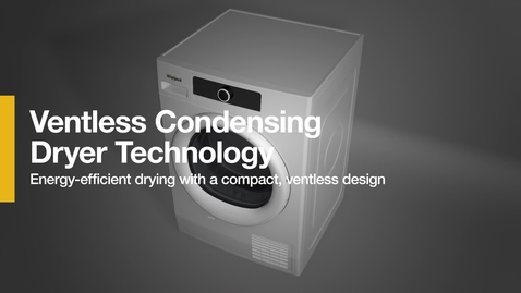Thumbnail for entry How it Works: Ventless Condensing Dryer Technology