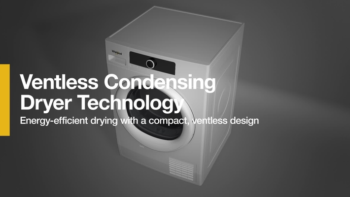 How it Works: Ventless Condensing Dryer Technology