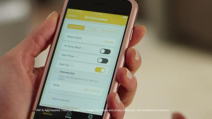 Download & Go™ Feature - Whirlpool Dishwashers