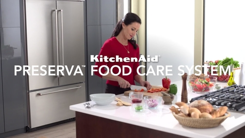 Thumbnail for entry Preserva Food Care System for Built-in Refrigerators - KitchenAid Brand