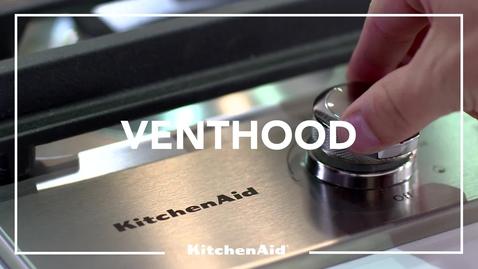 Thumbnail for entry Venthood Wall - KitchenAid Brand