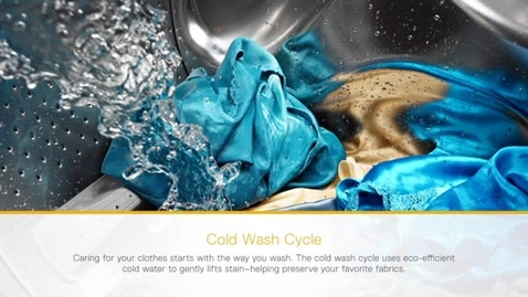 Thumbnail for entry Cold Wash Cycle - Whirlpool Laundry