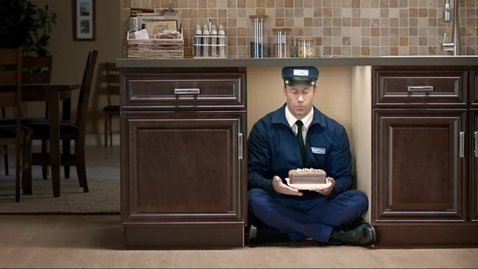 Thumbnail for entry Maytag Man Commercial Dishwasher Cake - Maytag Brand