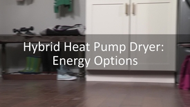Thumbnail for entry The New Energy Options on the Hybrid Heat Pump Dryer