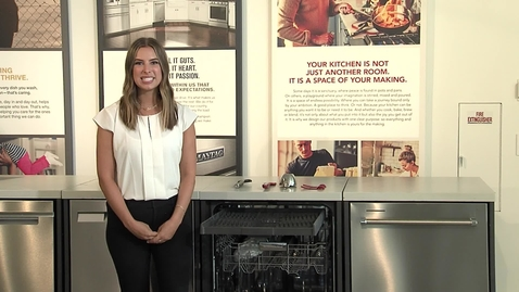 Thumbnail for entry Learning about the KitchenAid® KDTE204K - Dish Product Training