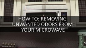 Thumbnail for entry How To- Removing Unwanted Odors From Your Microwave