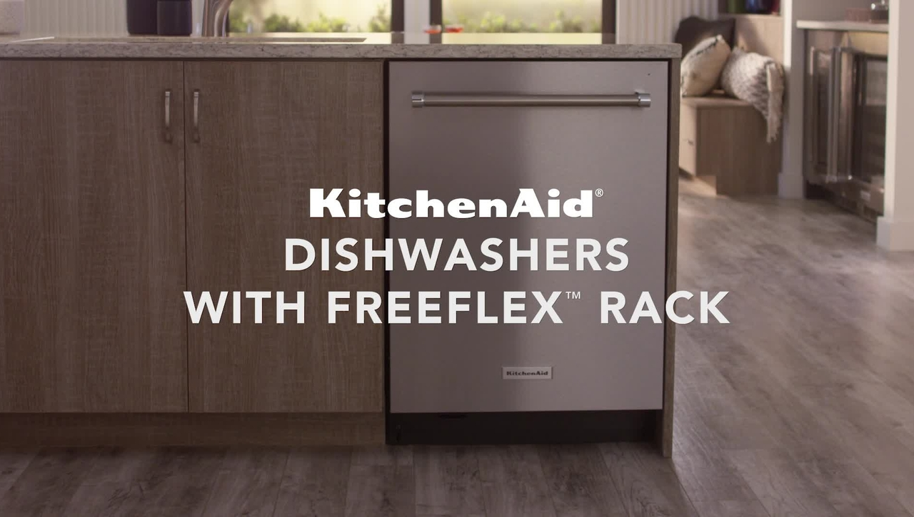 Deep Dive Into the KitchenAid® FreeFlex™ Third Rack Dishwashers