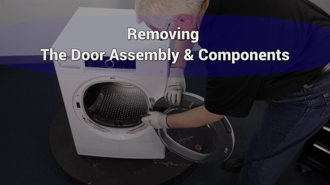 Thumbnail for entry Compact Dryer Removing Door and Components