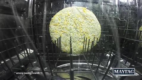 Pizza and Cake vs Maytag Dishwasher - Maytag Dishwasher