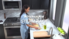 Thumbnail for entry KitchenAid Cooking - Slide-In Steam Rack