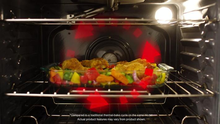 True Convection Cooking with Whirlpool Freestanding Ranges