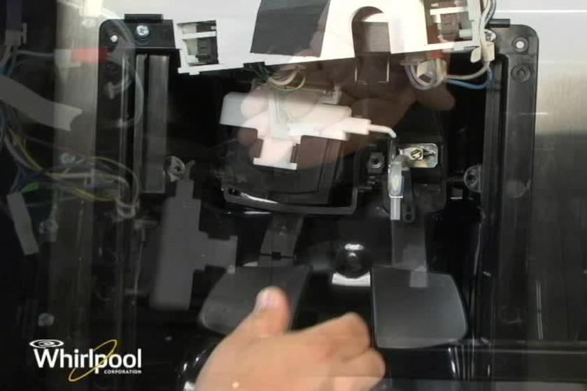 Refrigerator Ice Door Kit For Broken Tab Installation