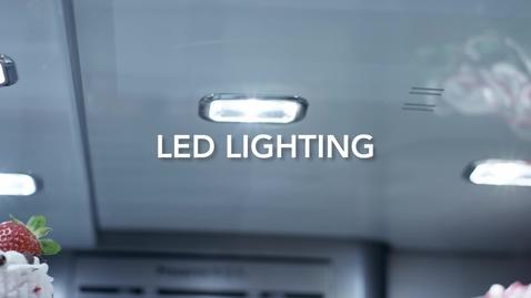 Thumbnail for entry 5-Door Refrigerator - 5-Door Led Lighting - KitchenAid Brand