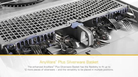 Thumbnail for entry AnyWare™ Plus Silverware Basket - Whirlpool Dishwasher