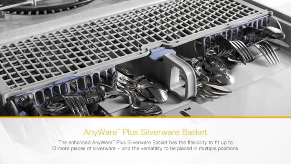 AnyWare™ Plus Silverware Basket   Whirlpool Dishwasher