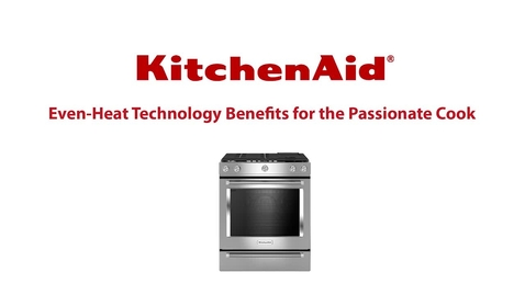 Thumbnail for entry Even-Heat Technology - KitchenAid Free Standing Range
