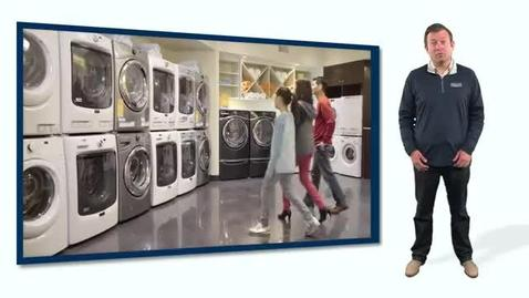 Selling Skills - Maytag Top Load Laundry