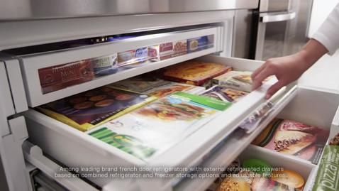 Thumbnail for entry Flexible Storage - Whirlpool Refrigeration