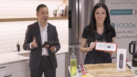 Thumbnail for entry Professional Chef cooks Salmon with the Yummly® Smart Thermometer