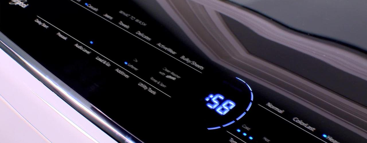 Intuitive Touch Controls Features & Benefits - Whirlpool Top Load Laundry