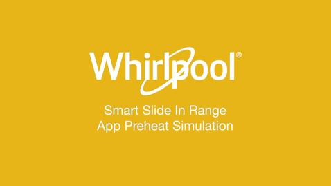 Thumbnail for entry Smart Slide-In Range Preheat - Whirlpool® App
