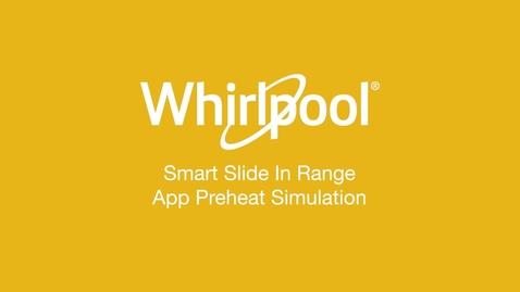 Thumbnail for entry Smart Slide-In Range Preheat - Whirlpool® App