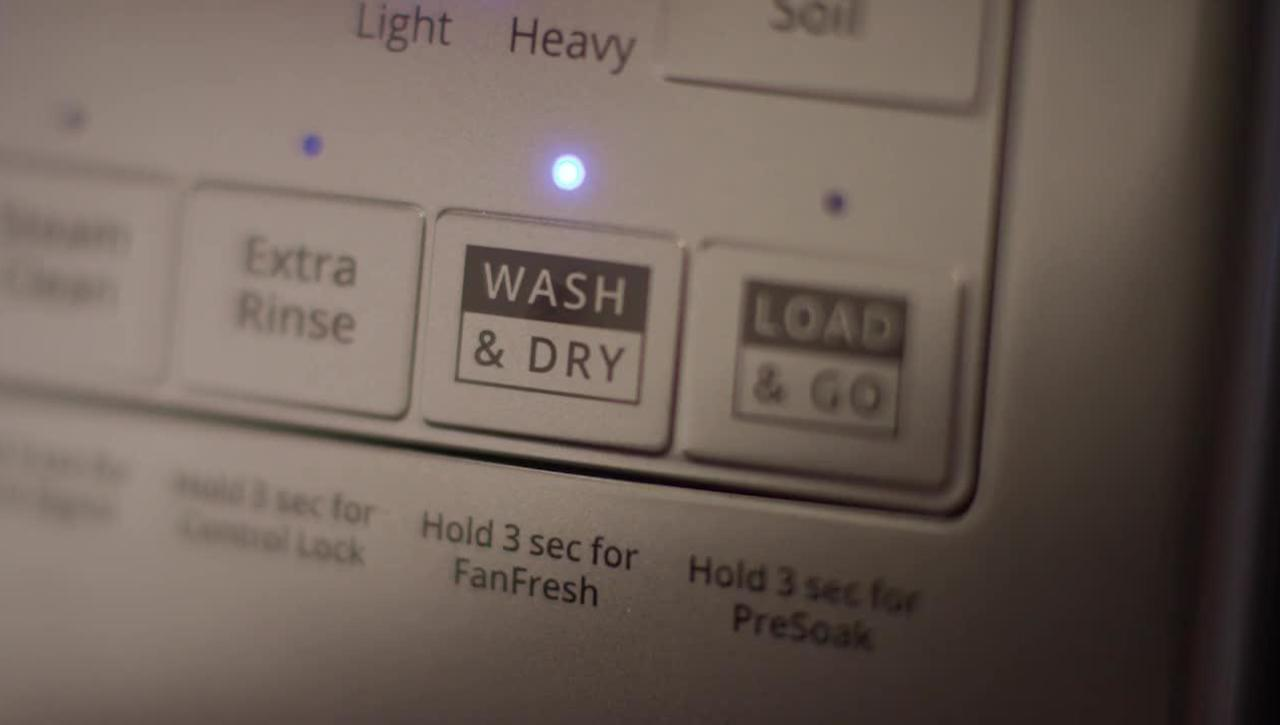 Keep laundry moving with the Wash & Dry option on Whirlpool® Front Load Washers