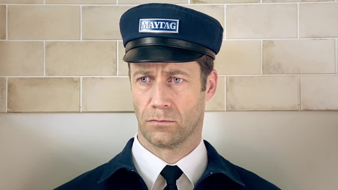 Thumbnail for entry Maytag Man Oven Commercial Staring Contest - Maytag Brand