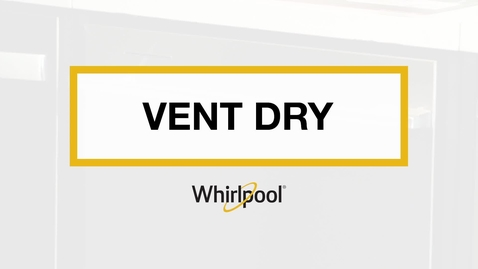 Thumbnail for entry How Vent Dry Works in Whirlpool® Dishwashers