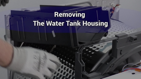 Thumbnail for entry Compact Dryer Remove water tank housing