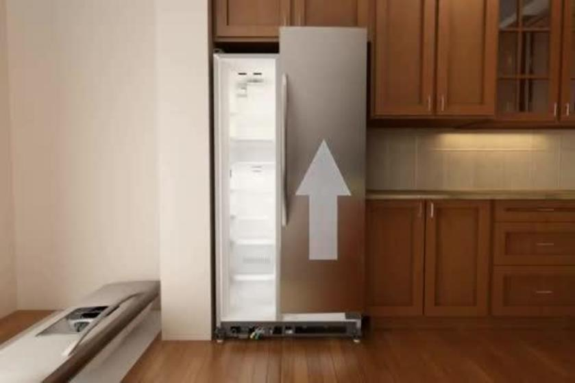 How To Remove And Replace A Refrigerator Door