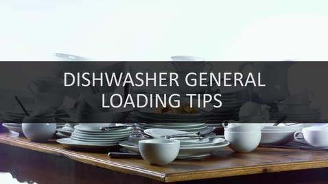 Thumbnail for entry Quick Tips: Dishwasher Loading